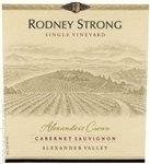 Rodney Strong Alexander's Crown Cabernet Sauvignon 2015 (750 ml