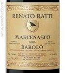 Renato Ratti Barolo Marcenasco 2017 (750 ml)