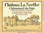 Chateau La Nerthe Chateauneuf-du-Pape Cuvee des Cadettes 2016 (750 ml)
