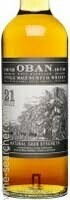 Oban Limited Edition Natural Cask Strength 21 Year Old Single Malt Scotch Whisky, Highlands (750 ml)