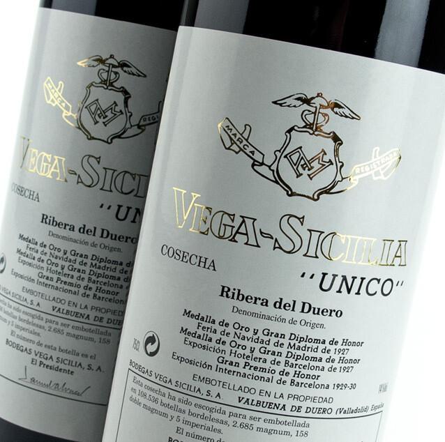 Vega Sicilia Unico 2010 (750 ml)