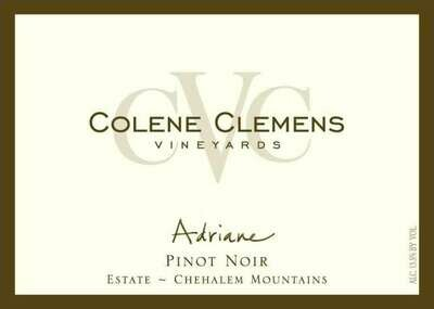 Colene Clemens Vineyards 'Adriane' Pinot Noir, Chehalem Mountains 2014 (750 ml)