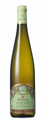 Willm Gewurztraminer Kirchberg de Barr Clos Gaensbroennel, Alsace Grand Cru 2016 (750 ml)