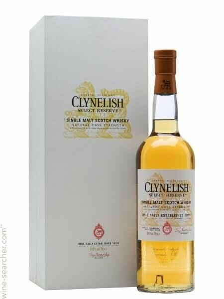 Clynelish Select Reserve Natural Cask Strength Single Malt Scotch Whisky, Highlands (750 ml)