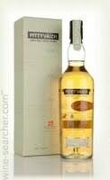 Pittyvaich 25 Year Old Single Malt Scotch Whisky, Speyside (750 ml)