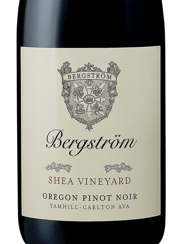 Bergstrom Shea Vineyard Pinot Noir, Yamhill-Carlton District 2017 (750 ml)