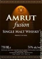 Amrut Fusion Single Malt Whisky, India (750 ml)