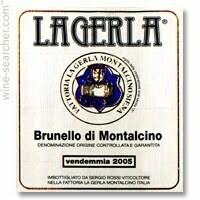 La Gerla Brunello di Montalcino DOCG, Tuscany 2013 (750 ml)