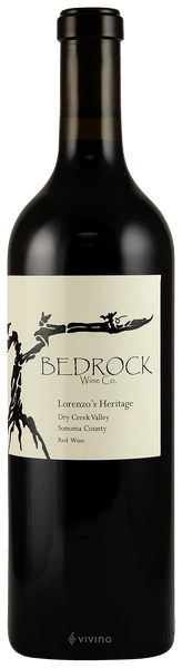 Bedrock Wine Co. Lorenzo's Heritage, Dry Creek Valley 2017 (750 ml)