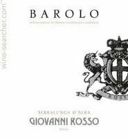 Giovanni Rosso Barolo, Piedmont 2014 (750 ml)
