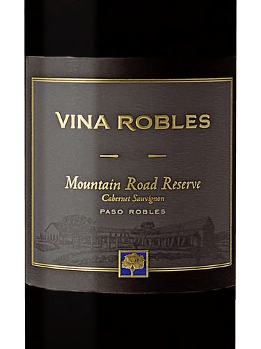Vina Robles Mountain Road Reserve Cabernet Sauvignon, Paso Robles 2015 (750 ml)