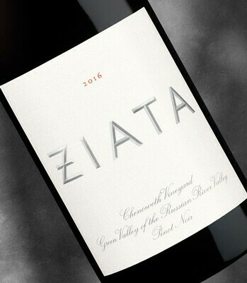 Ziata Pinot Noir, Russian River Valley 2016 (750 ml)