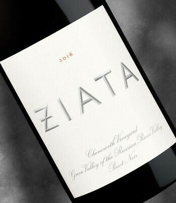 Ziata Pinot Noir, Russian River Valley 2017 (750 ml)