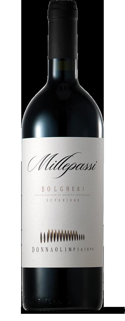 Donna Olimpia 1898 Millepassi Bolgheri Superiore, Tuscany 2015 (750 ml)