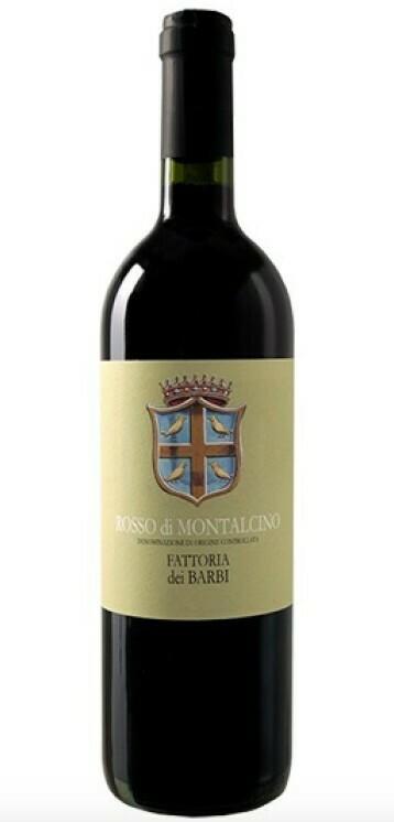 Fattoria dei Barbi Rosso di Montalcino, Tuscany 2016 (750 ml)