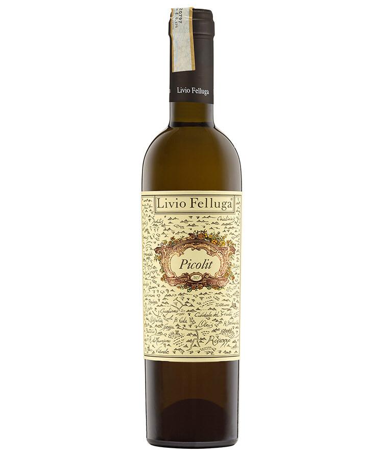 Livio Felluga Colli Orientali del Friuli Picolit DOCG, Friuli-Venezia Giulia 2015 (375 ml)