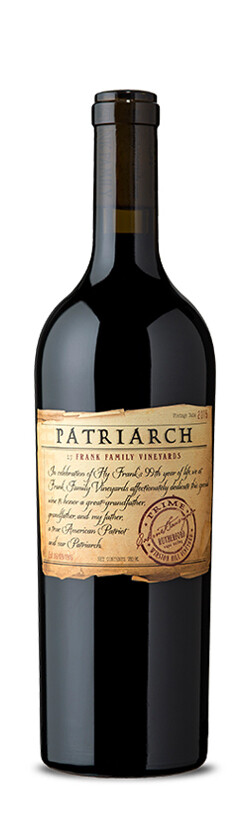 Frank Family Vineyards Patriarch Cabernet Sauvignon, Rutherford 2015 (750 ml)
