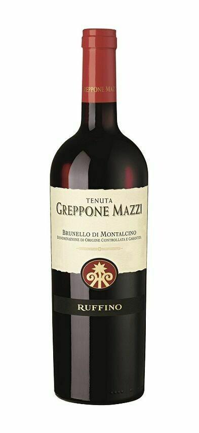 Ruffino Greppone Mazzi, Brunello di Montalcino 2012 (750 ml)