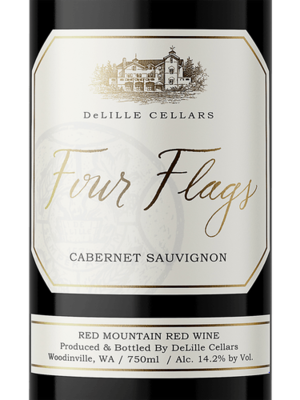 DeLille Cellars 'Four Flags' Cabernet Sauvignon, Washington 2014 (750 ml)