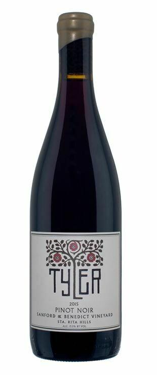 Tyler Sanford & Benedict Vineyard Pinot Noir, Sta Rita Hills 2017 (750 ml)