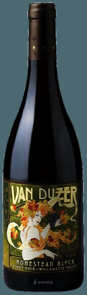 Van Duzer Homestead Block Pinot Noir, Willamette Valley 2015 (750 ml)