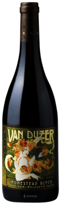 Van Duzer Homestead Block Pinot Noir, Willamette Valley 2015 (750 ml)