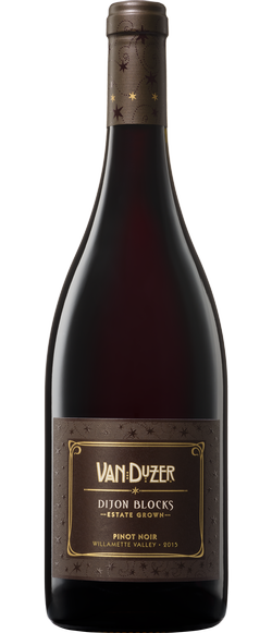 Van Duzer Dijon Blocks Pinot Noir, Willamette Valley 2015 (750 ml)