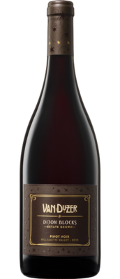 Van Duzer Dijon Blocks Pinot Noir, Willamette Valley 2015 (750 ml)