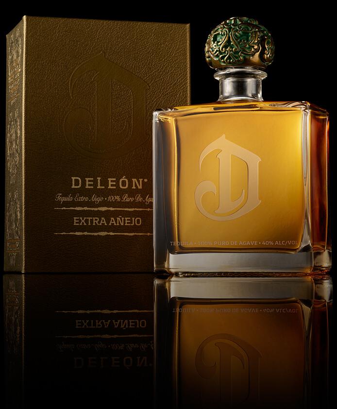 DeLeon Tequila Extra Anejo 108 Proof, Mexico (750 ml)