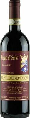Fattoria Poggio di Sotto Brunello di Montalcino Riserva 2013 (750 ml)