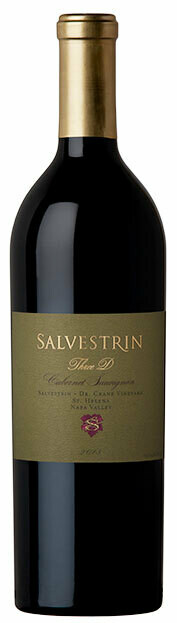 Salvestrin Cabernet Sauvignon Dr. Crane Vineyard Three D (3D) 2013 (750 ml)