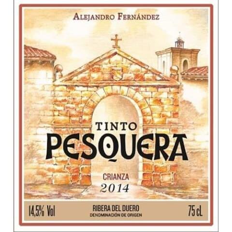 Tinto Pesquera Crianza, Ribera del Duero 2015 (750 ml)