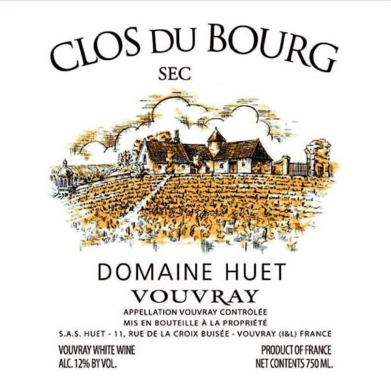 Domaine Huet Vouvray Clos du Bourg Sec 2018 (750 ml)