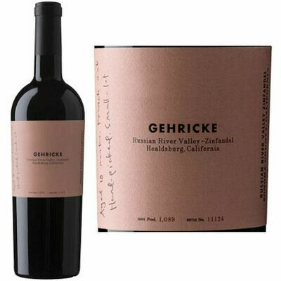 Gehricke Zinfandel Russian River Valley 2018 (750 ml)