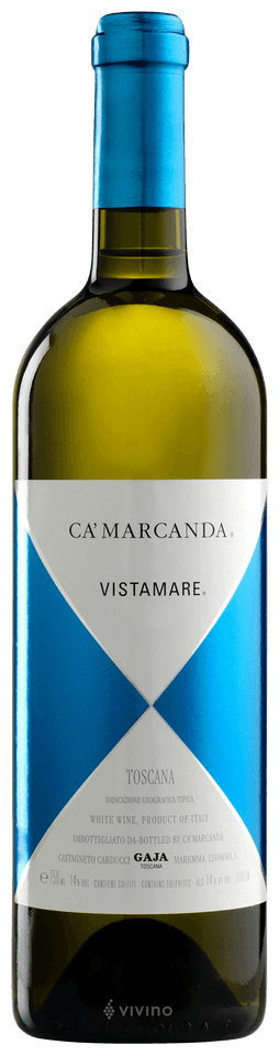 Gaja Ca'Marcanda Vistamare Toscana 2018 (750 ml)