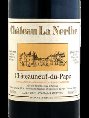 Chateau La Nerthe Chateauneuf-du-Pape Rouge 2016 (750 ml))