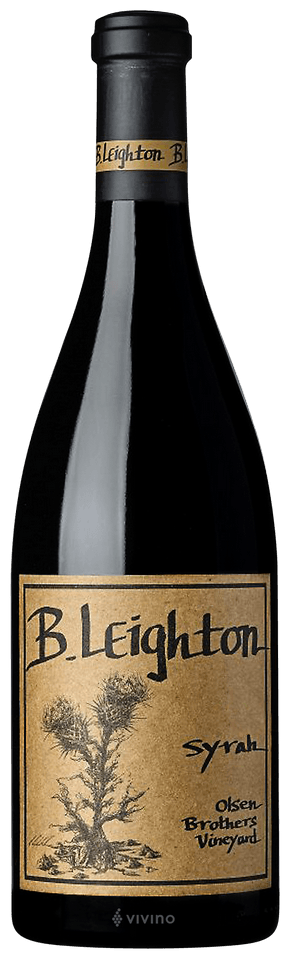 B. Leighton Syrah (Olsen Brothers Vineyard) 2017 (750 ml)