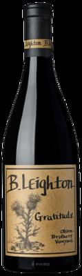 B. Leighton Gratitude (Olsen Brothers Vineyard) 2017 (750 ml)