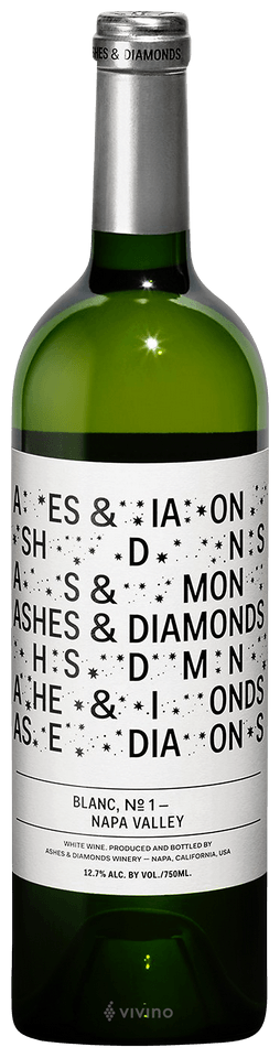 Ashes & Diamonds Blanc No 1, Napa Valley 2017 (750 ml)