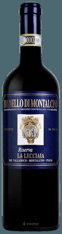 La Lecciaia Brunello di Montalcino Riserva 2012 (750 ml)