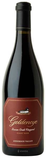 Goldeneye Pinot Noir Gowan Creek Vineyard 2016 (750 ml)
