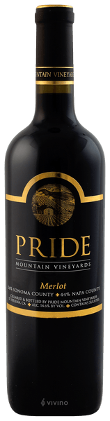 Pride Mountain Vineyards Merlot 2017 (750 ml)