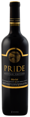 Pride Mountain Vineyards Merlot 2015 (750 ml)