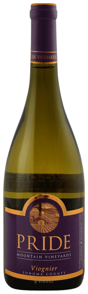 Pride Mountain Vineyards Viognier 2019 (750 ml)