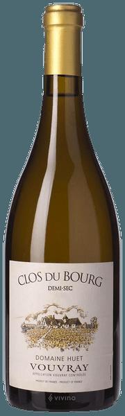Domaine Huet Clos du Bourg Vouvray Demi-Sec 2017 (750 ml)