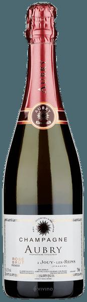 Aubry Brut Rosé Champagne Premier Cru (750 ml)