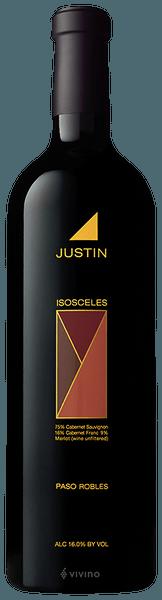 Justin Isosceles 2017 (750 ml)