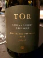TOR Kick Ranch Vineyard Grenache 2016 (750 ml)