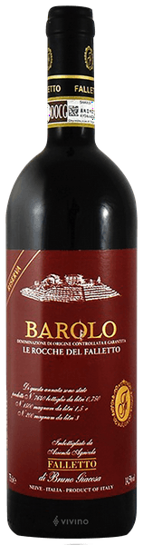Bruno Giacosa Falletto Barolo Le Rocche del Falletto Riserva 2012 (1.5 Liter)