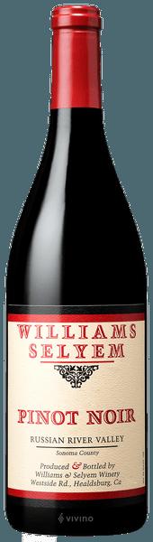 Williams Selyem Russian River Valley Pinot Noir 2018 (750 ml)